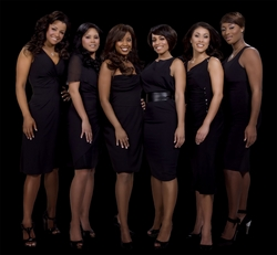 The Ladies Hennessy (l-r): Dollicia Bryan, Miss Issa, Reagan Gomez, Melyssa Ford, Angelica Curves, and Toccara Jones
