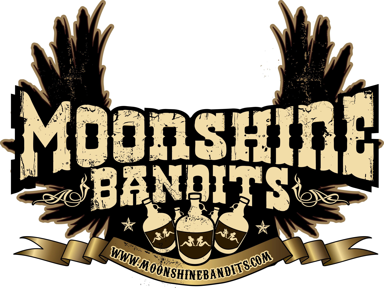 Moonshiners Logo Moonshine Bandits Logo Click