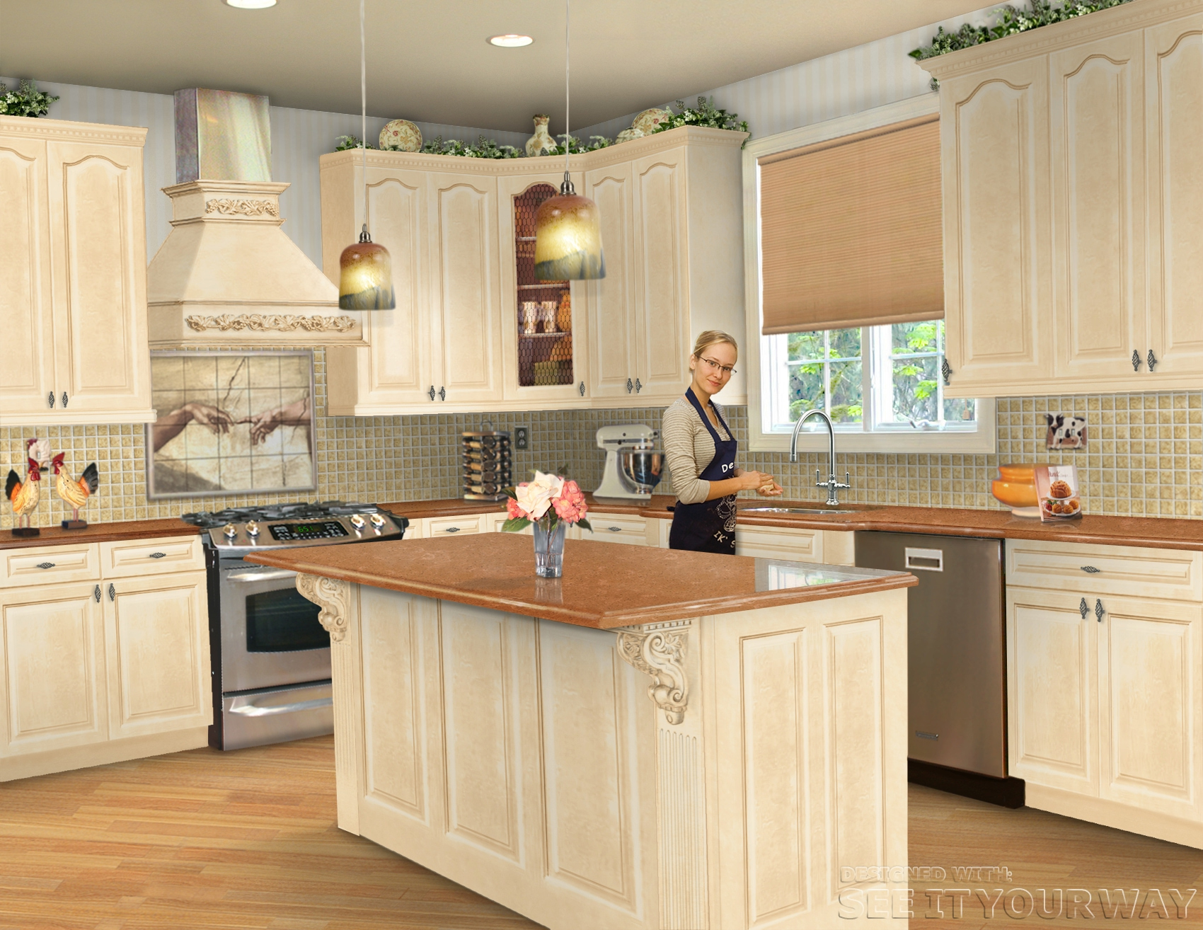 kitchen tune up chooses maytex global for room design tool