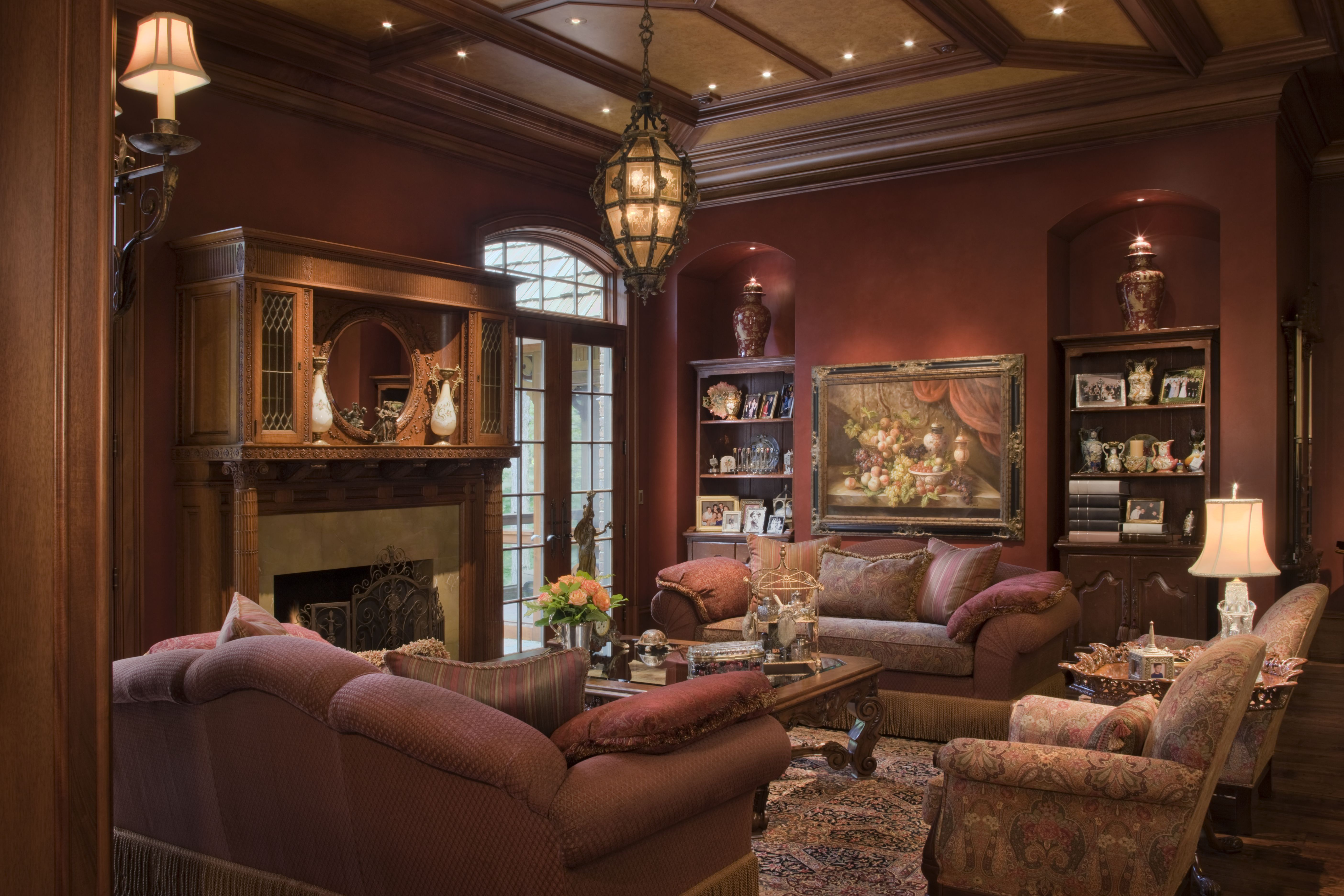 Work of west bloomfield luxury home builder wins 8 design - Interior decorating living rooms ...