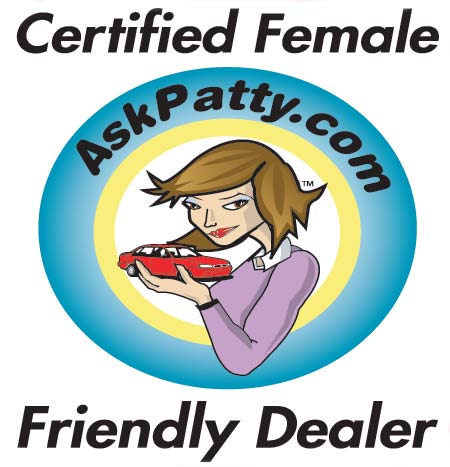 AskPatty Certified Female Friendly Logo