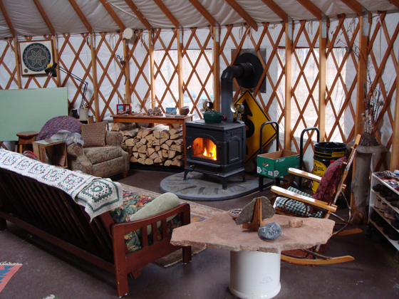 Living Off Grid And Sustainably In An Upstate New York