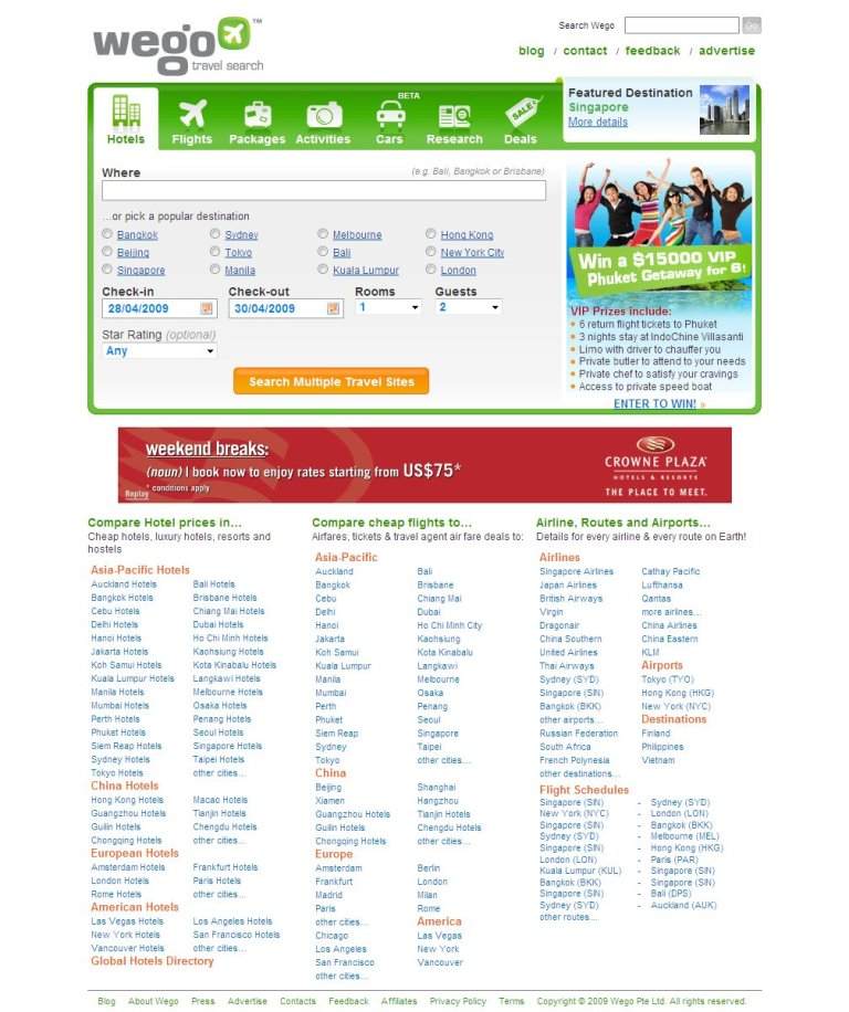 Rent Search Engines