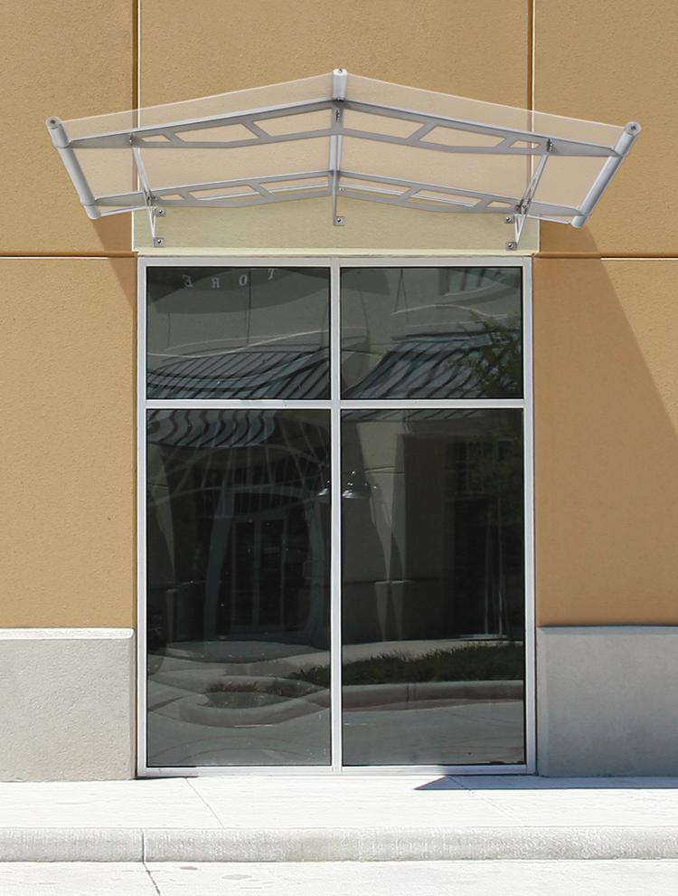 ... Lightline logo Lightline® Gable Canopy with clear acrylic visor pane. & Lightline® Door Canopies Win Top Honors at Design Journalu0027s ADEX ...