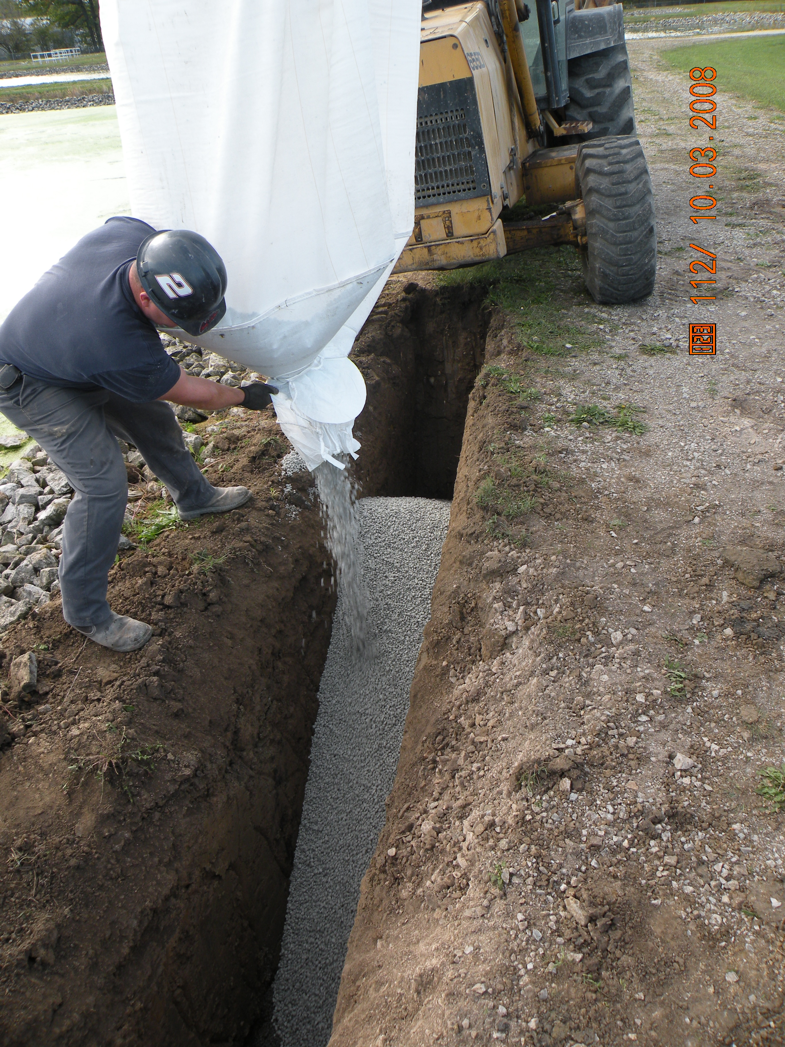 Aquablok material solves wide range of geotechnical and for Soil xat cut off