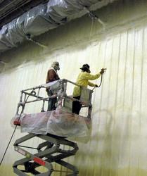 fire retardant paint over foam insulation. Black Bedroom Furniture Sets. Home Design Ideas