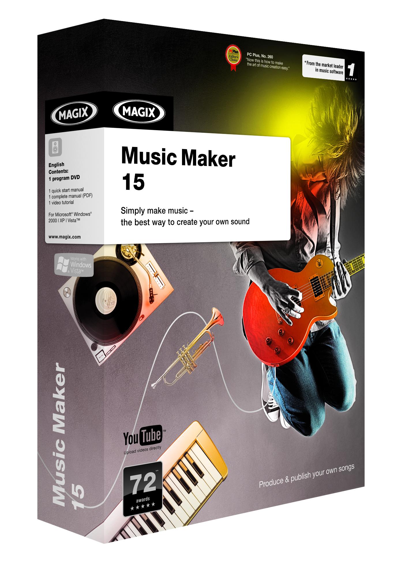 Magix music maker 15 premium crack download.