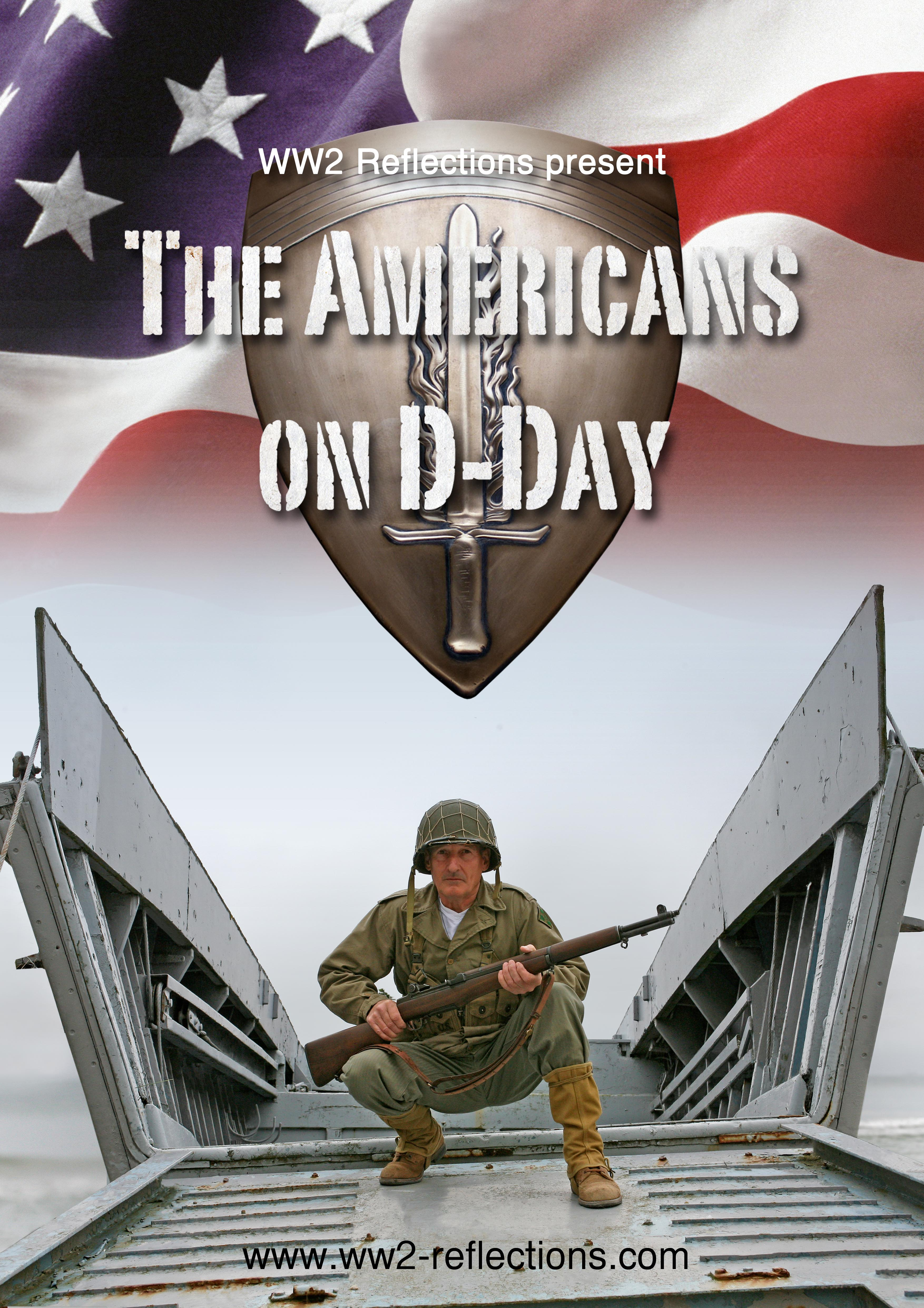 Day Movie Poster Americans on d-day film