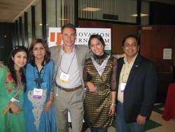SAMAA TV's Delegation at the 6th International Conference on Innovation Journalism at the Stanford University (18-20 May 2009)