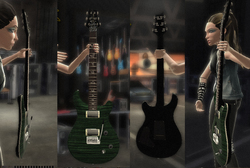 PRS Guitars Featured in GUITAR HERO