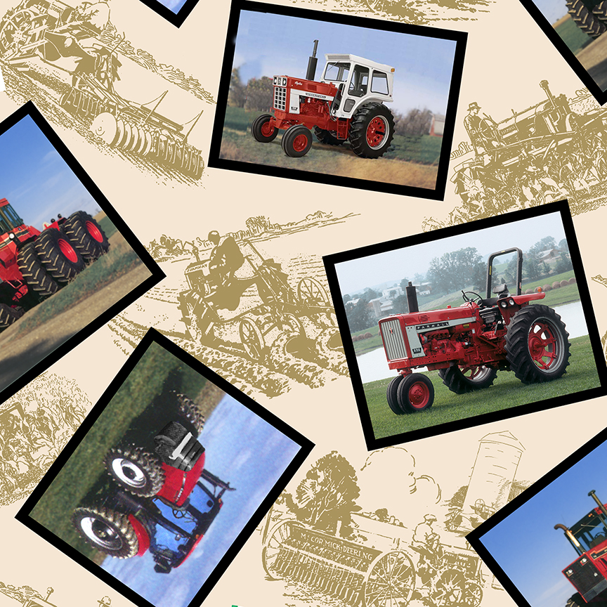 Case International Tractor Fabric : Case ih sponsors red tractor quilt contest