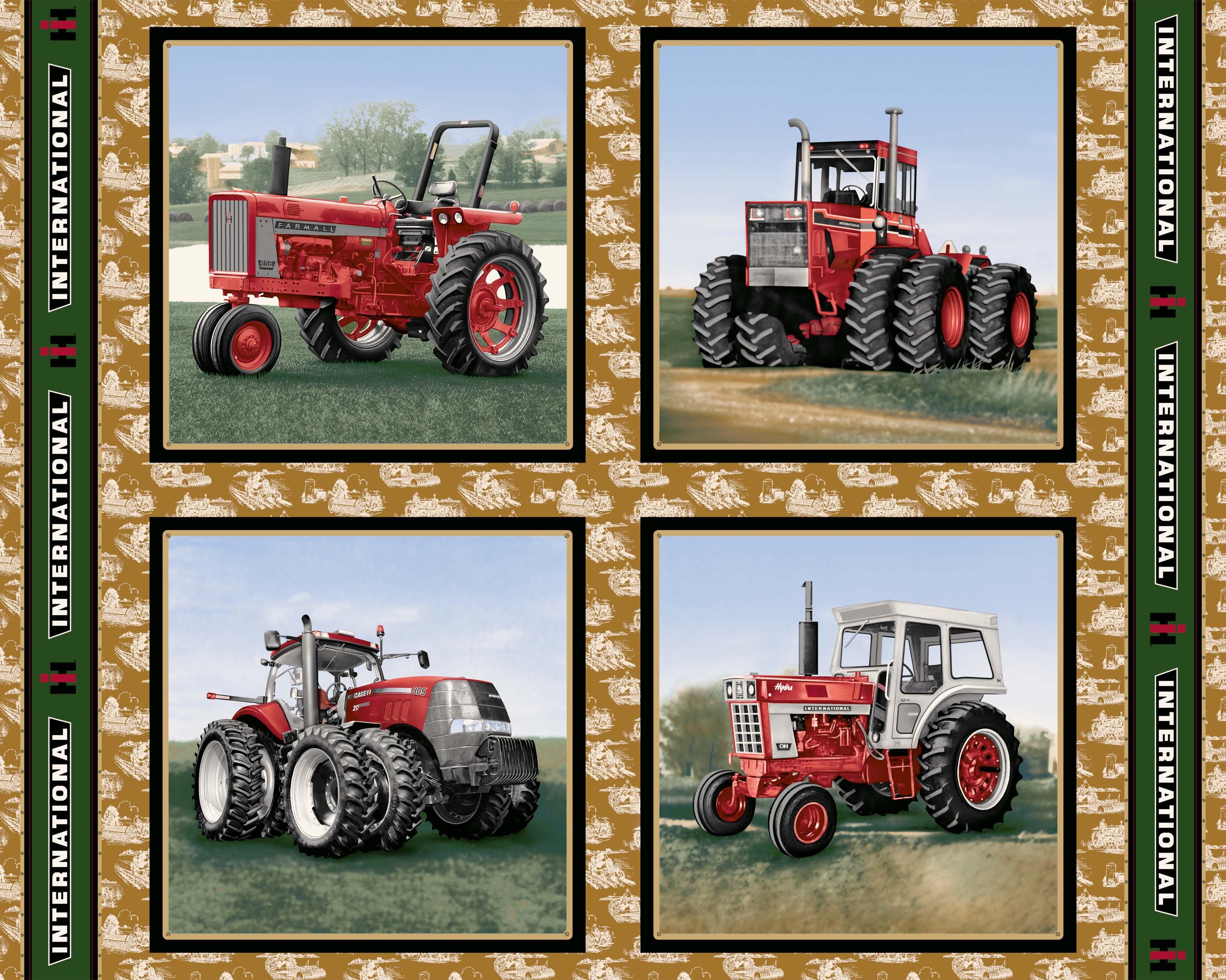 Case International Tractor Fabric : New international harvester and farmall fabrics now
