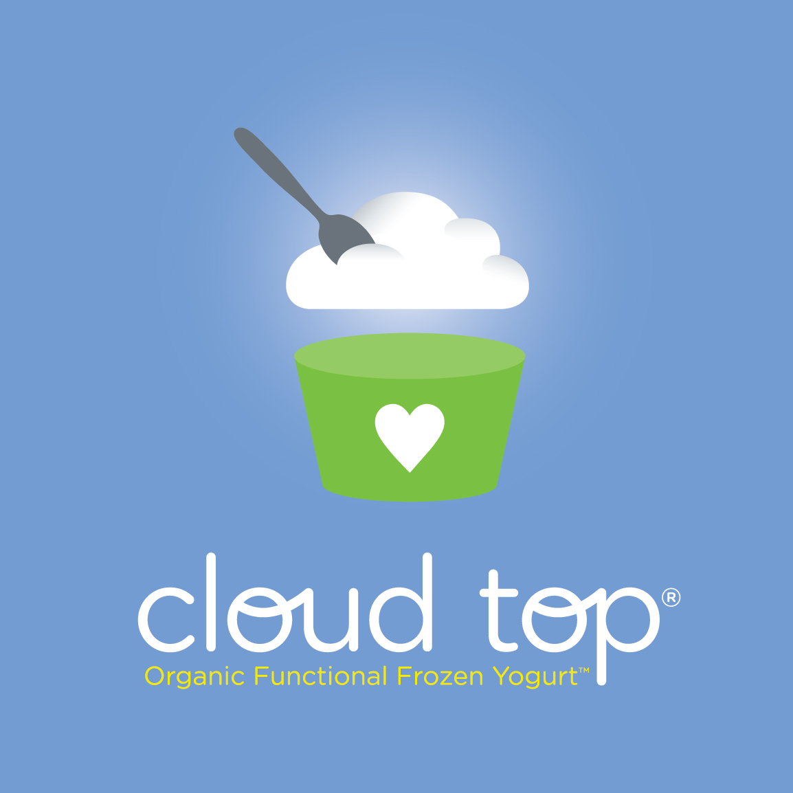 Frozen Yogurt Logo Cloud top company logo