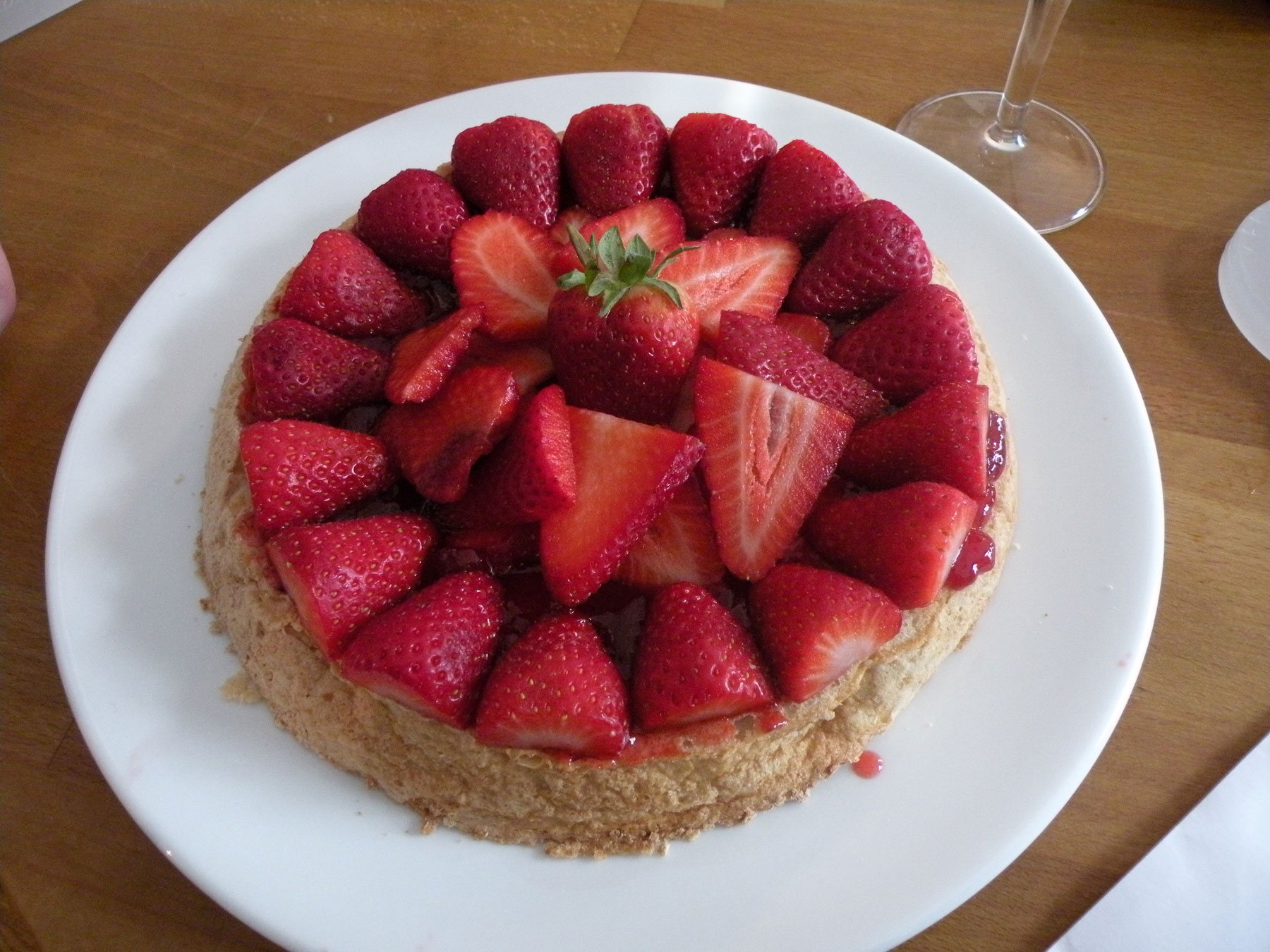 Almond Macaroon Galette With Strawberries Recipes — Dishmaps