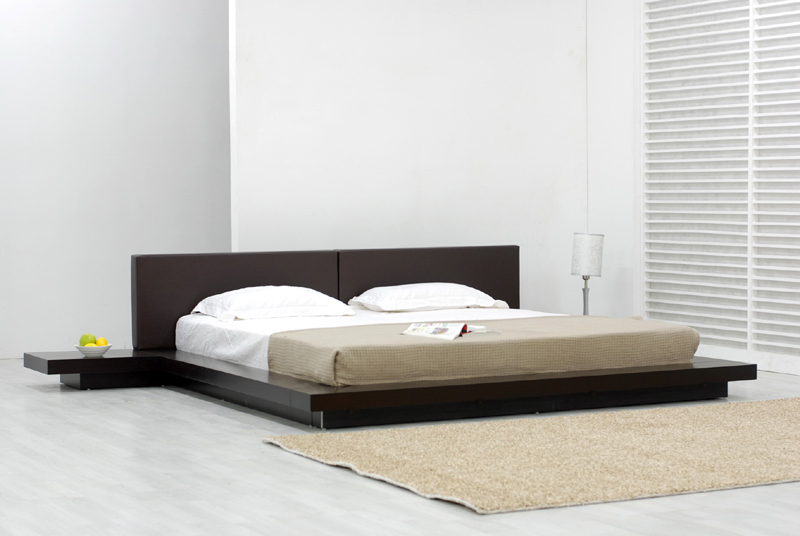 temptation chocolate platform bed new platform bed categories ...