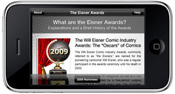 The Eisner Awards app is available now for free in the App Store and on iTunes.