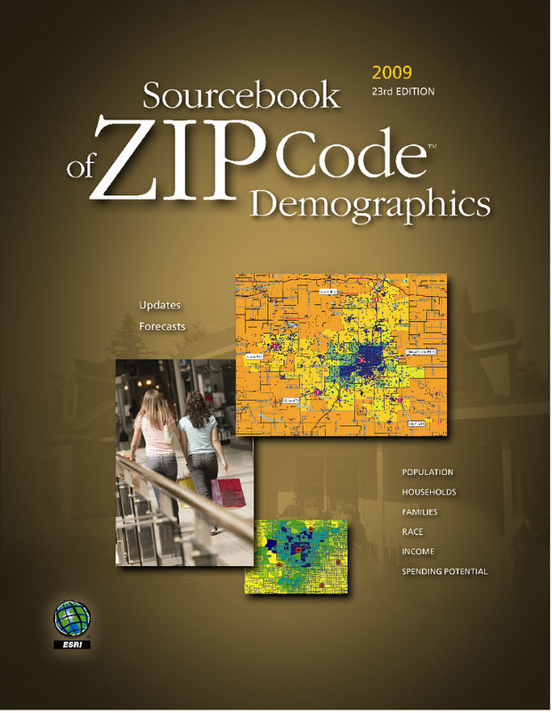 Perform Research More Accurately with ESRI 39 s 2009 Sourcebook Products