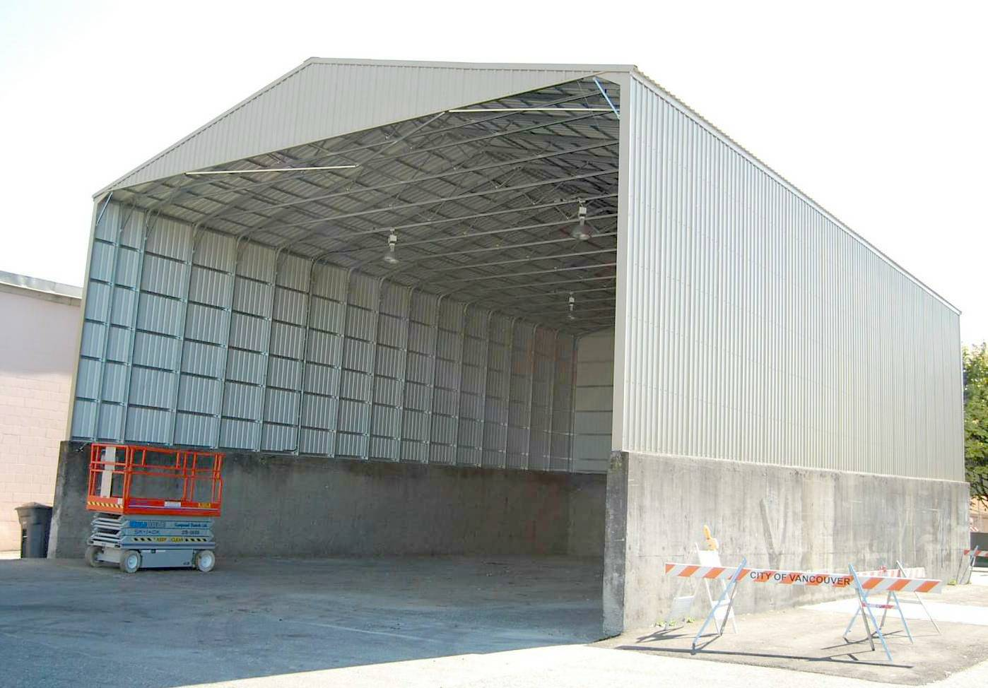 Metal Garages And Shelters : Custom steel building from versatube is solution to