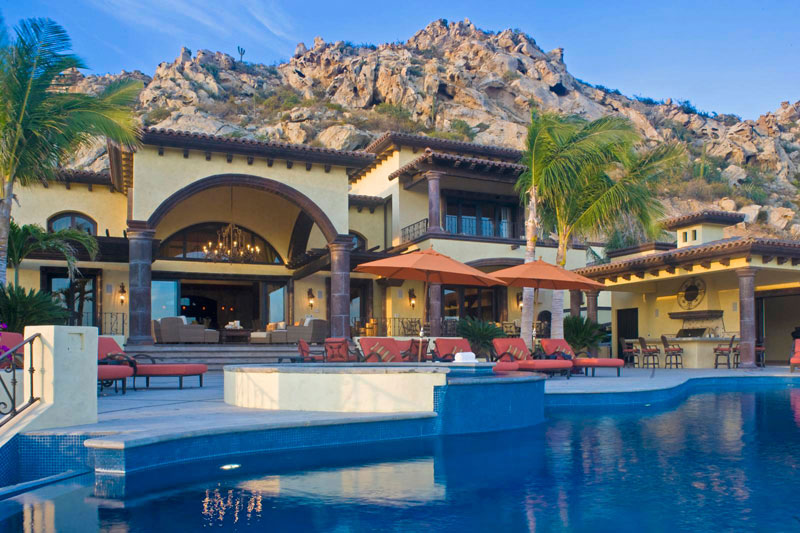 Earth sea sky vacations recognized as top villa rental for Villas los cabos