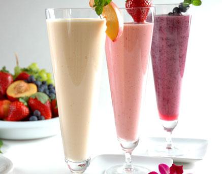Mountain high yoghurt reveals powerful exercise recovery food - Batidos de frutas ...