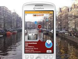 GoWeb3D will deliver content for Layar, the mobile augmented reality browser.