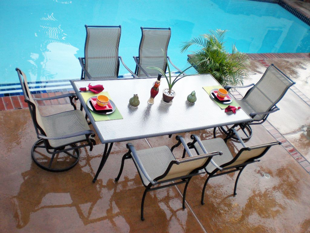 Orlando Patio Dining Set7 Piece Patio Dining Set ... - OverStocked Patios Enters Outdoor Patio Furniture Market With