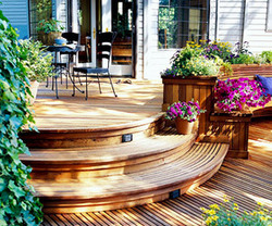Better homes and gardens and feature deck designs for Better home and garden deck design