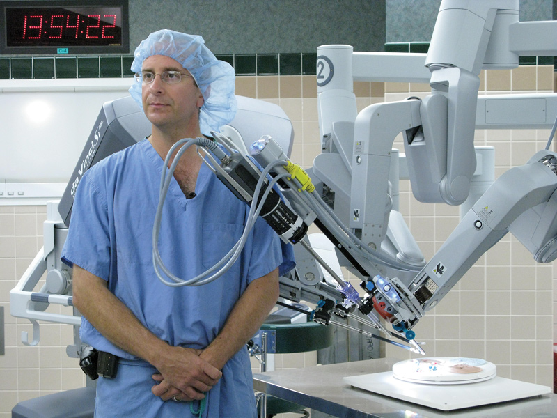 Bradley Schwartz, MD, the director for laparoscopy and endourology at