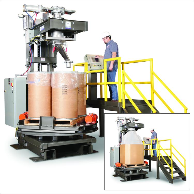 Bulk Material Handling Equipment Improves Fill And Weigh