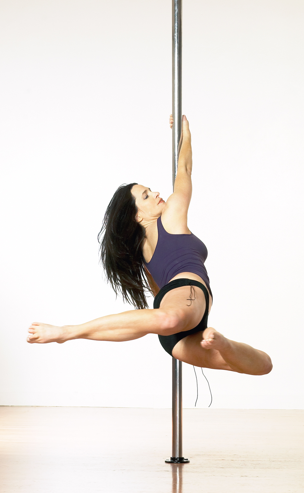 Pole dance workout video