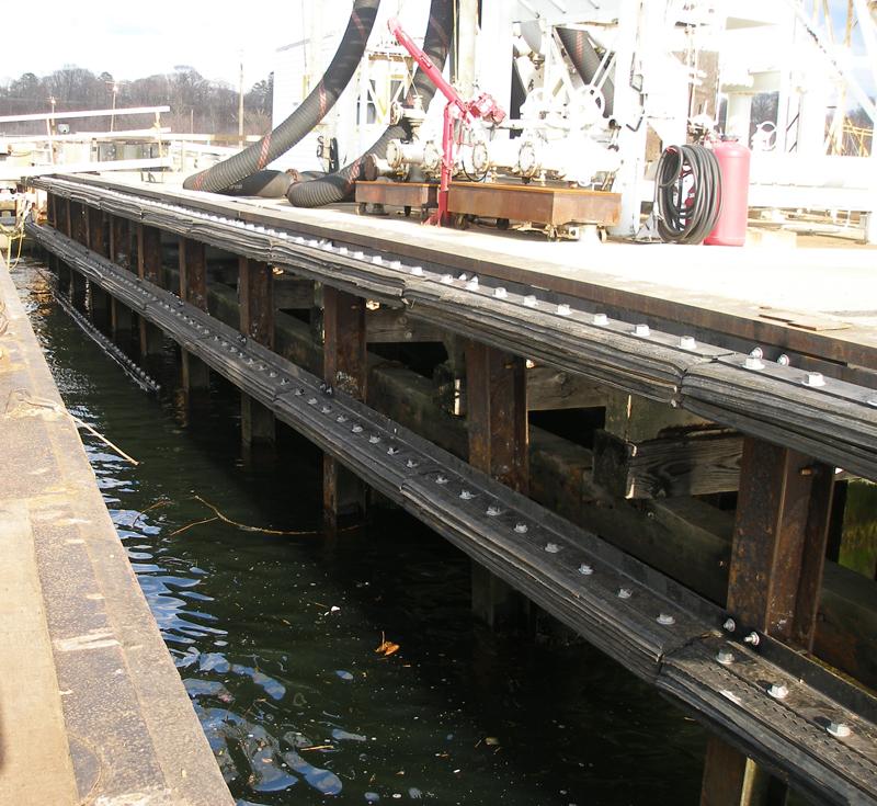Unique Marine Fenders For Barge Docks Offer Green Benefit
