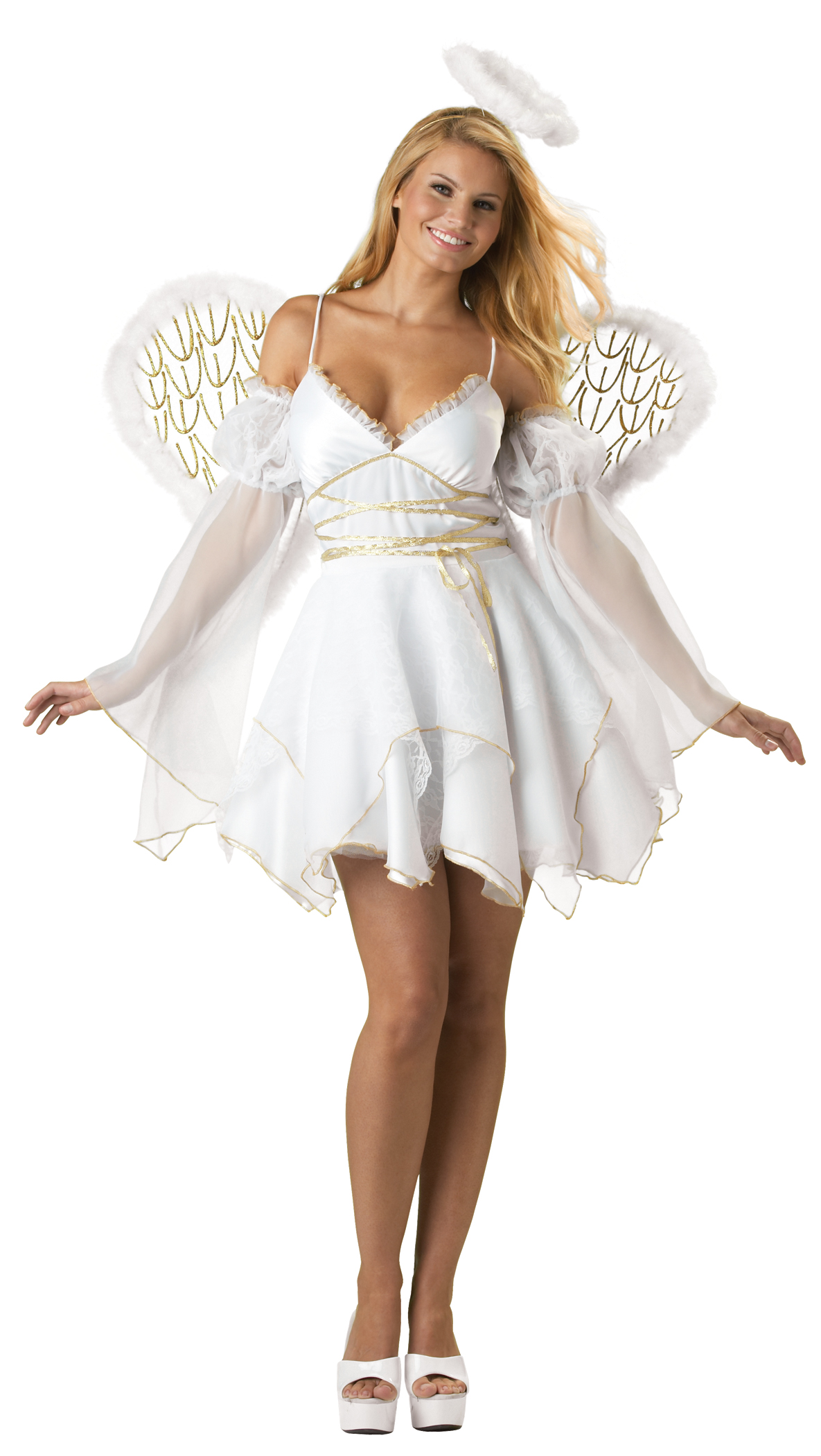 costume retailer kick starts halloween 2009 with mesmerizing angel halloween costumes. Black Bedroom Furniture Sets. Home Design Ideas