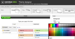 New visual design tools make it easy to create new themes