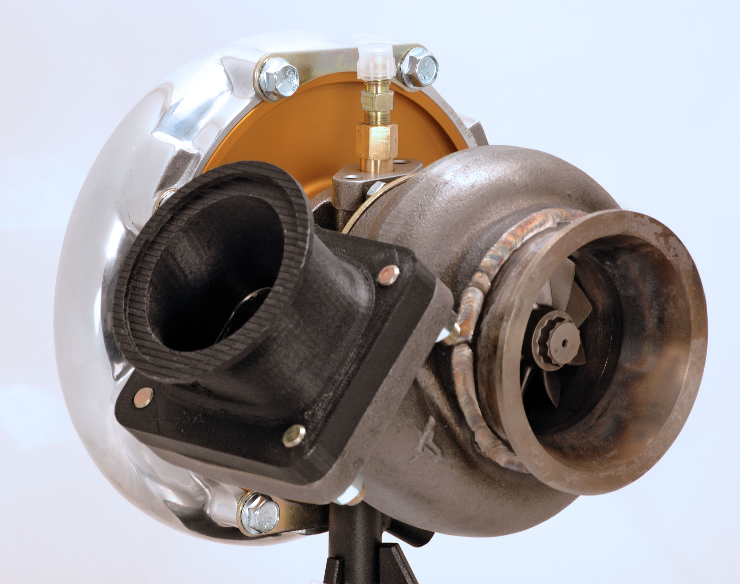 Ford 6.0 Diesel >> Turbo Pedestal Kit for Ford 6.0L Powerstroke Diesel by ...
