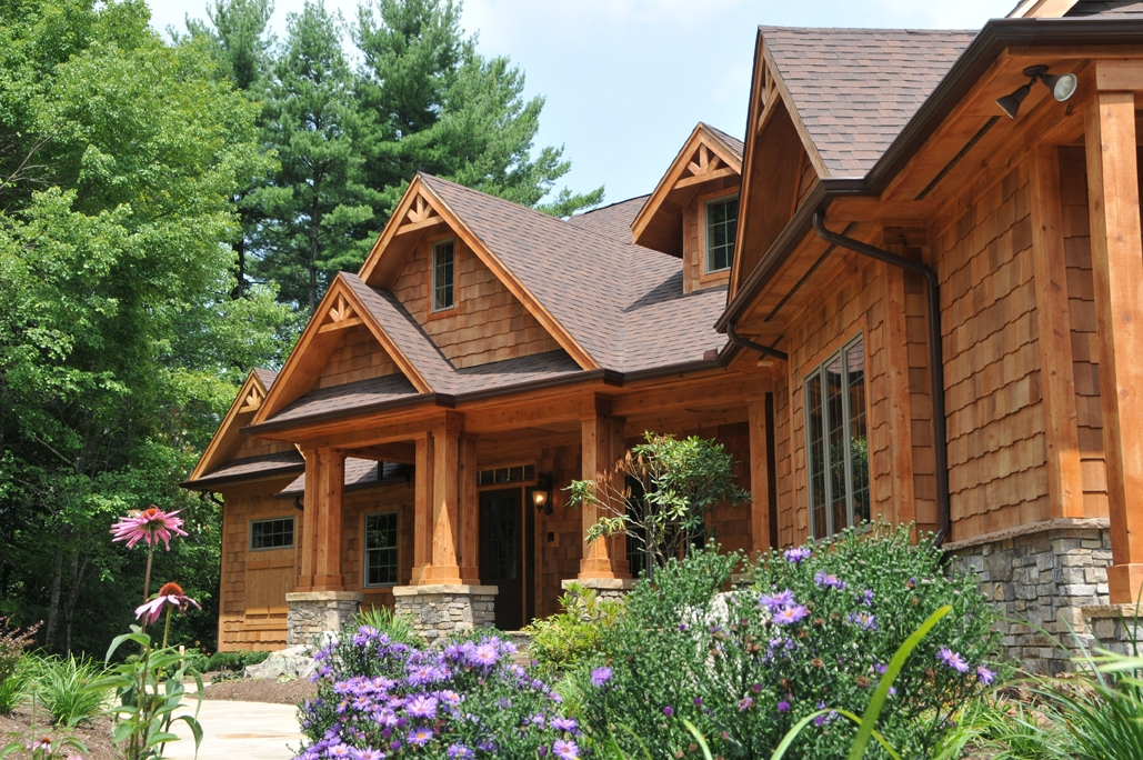 Olde mill southwestern va unveils residential real for Mountain craftsman home