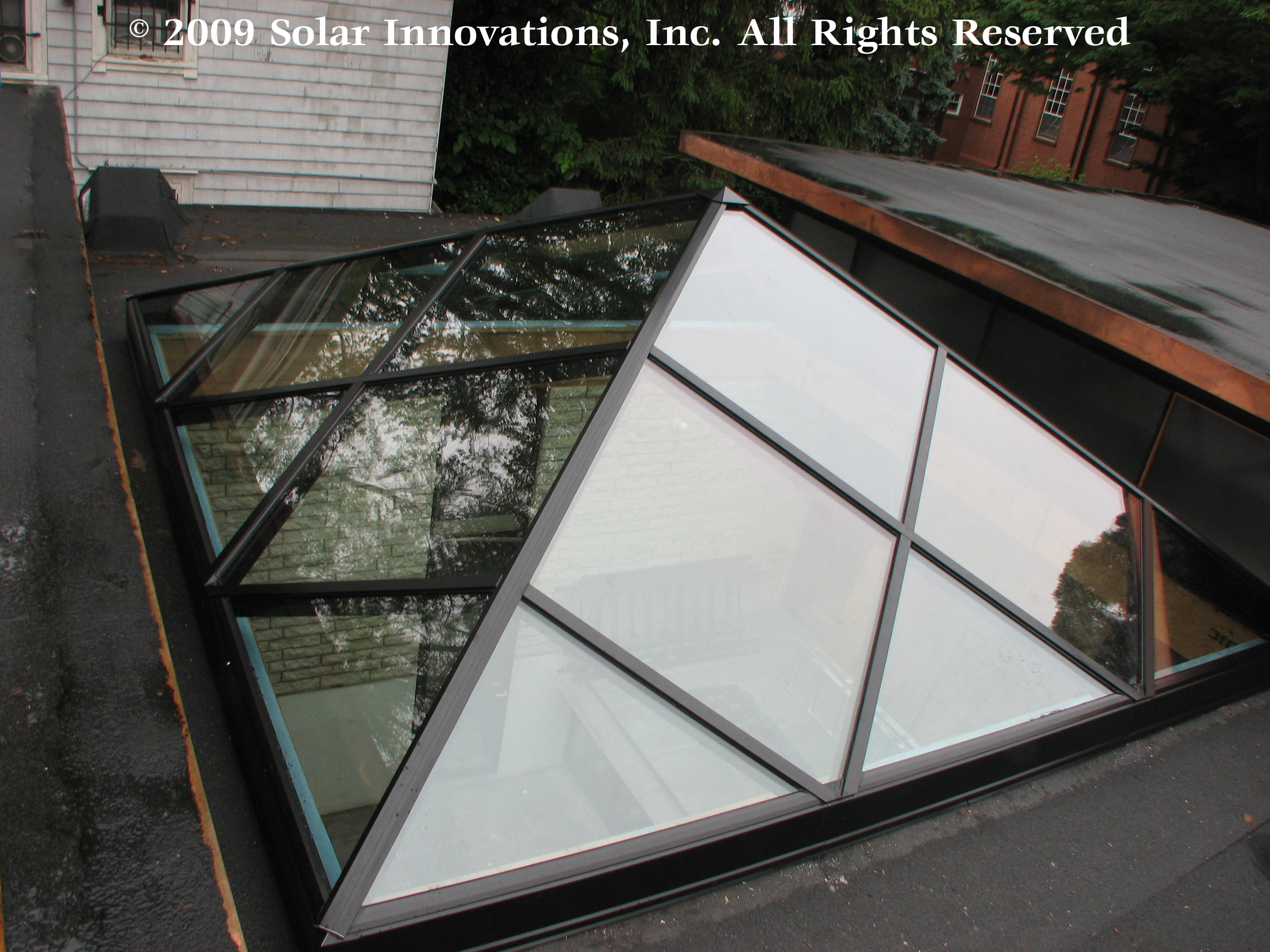 Solar Innovations Inc Completes Unique Skylight For