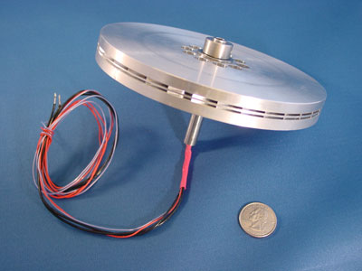 Launchpoint Coreless Axial Flux Motor Endless Sphere