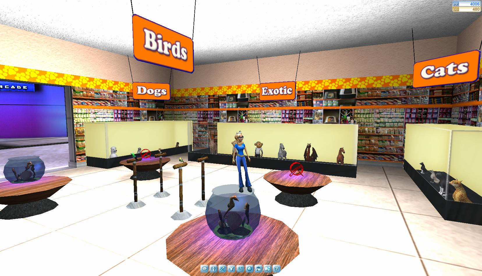 onverse a free online 3d virtual world unveils pets and a new action game. Black Bedroom Furniture Sets. Home Design Ideas