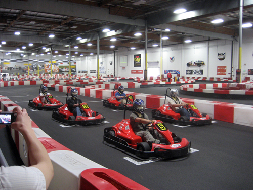 At K1 Speed Irvine, the public can enjoy indoor go-kart racing on not one, but two professionally designed tracks. Our Irvine karting location is one of our largest and is a fantastic place to spend a Friday evening with friends or Sunday afternoon with family.