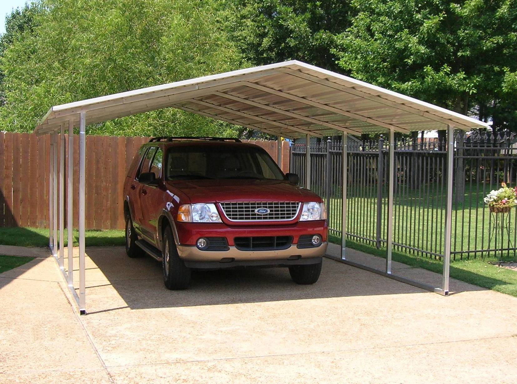 Carports designed by versatube offer elegance and more 1 car carport