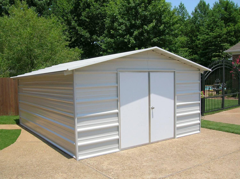 Enclosed Metal Carport : Enclosed metal carports innovation pixelmari