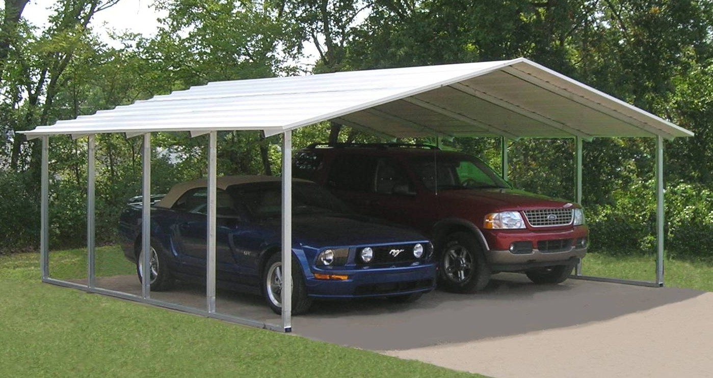 Carports Designed by VersaTube Offer Elegance and More Coverage with the New Suburban Series Metal Carport & Carports Designed by VersaTube Offer Elegance and More Coverage ...