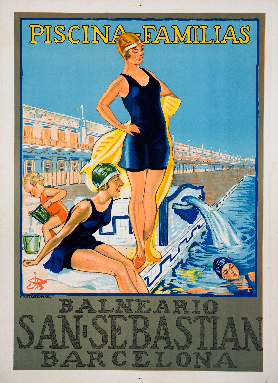 Vintage Posters - Piscinafamiliasbarcelona