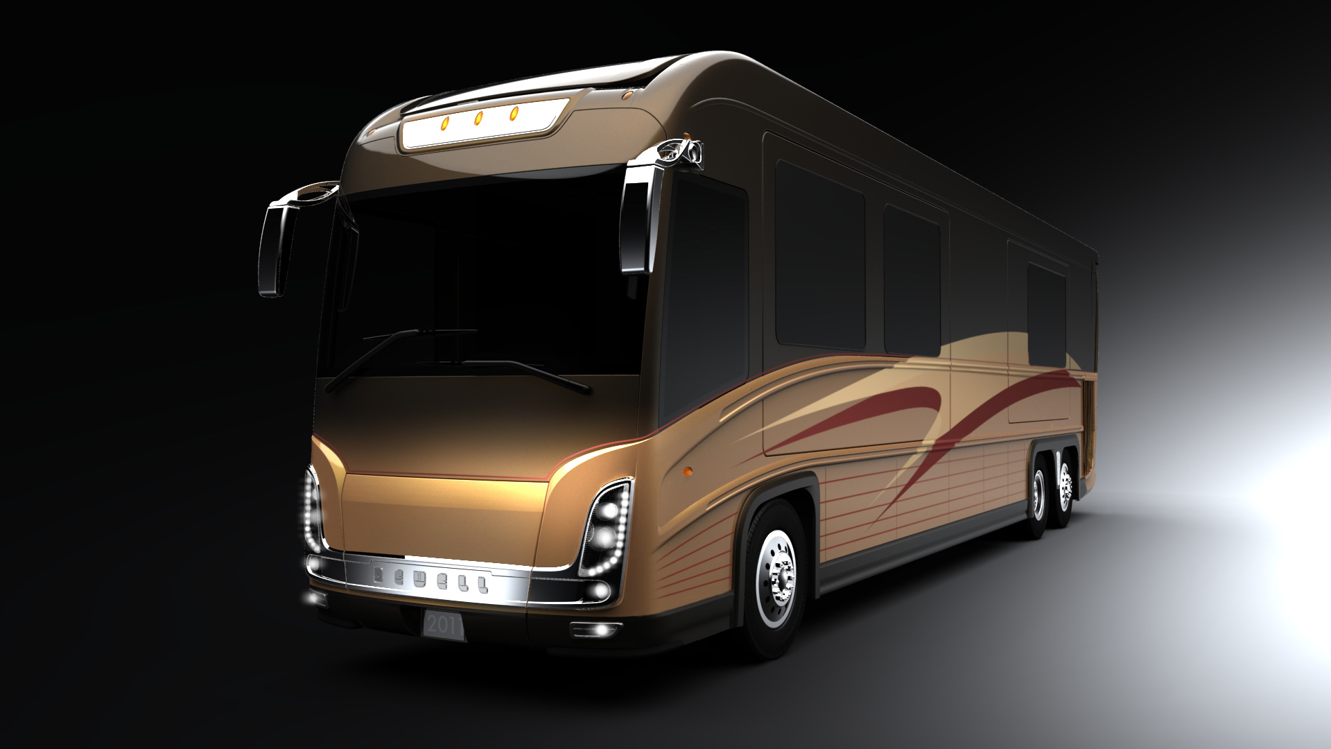 Newell Coach Is Now Producing 2011 Models Styled by Top Designer ...