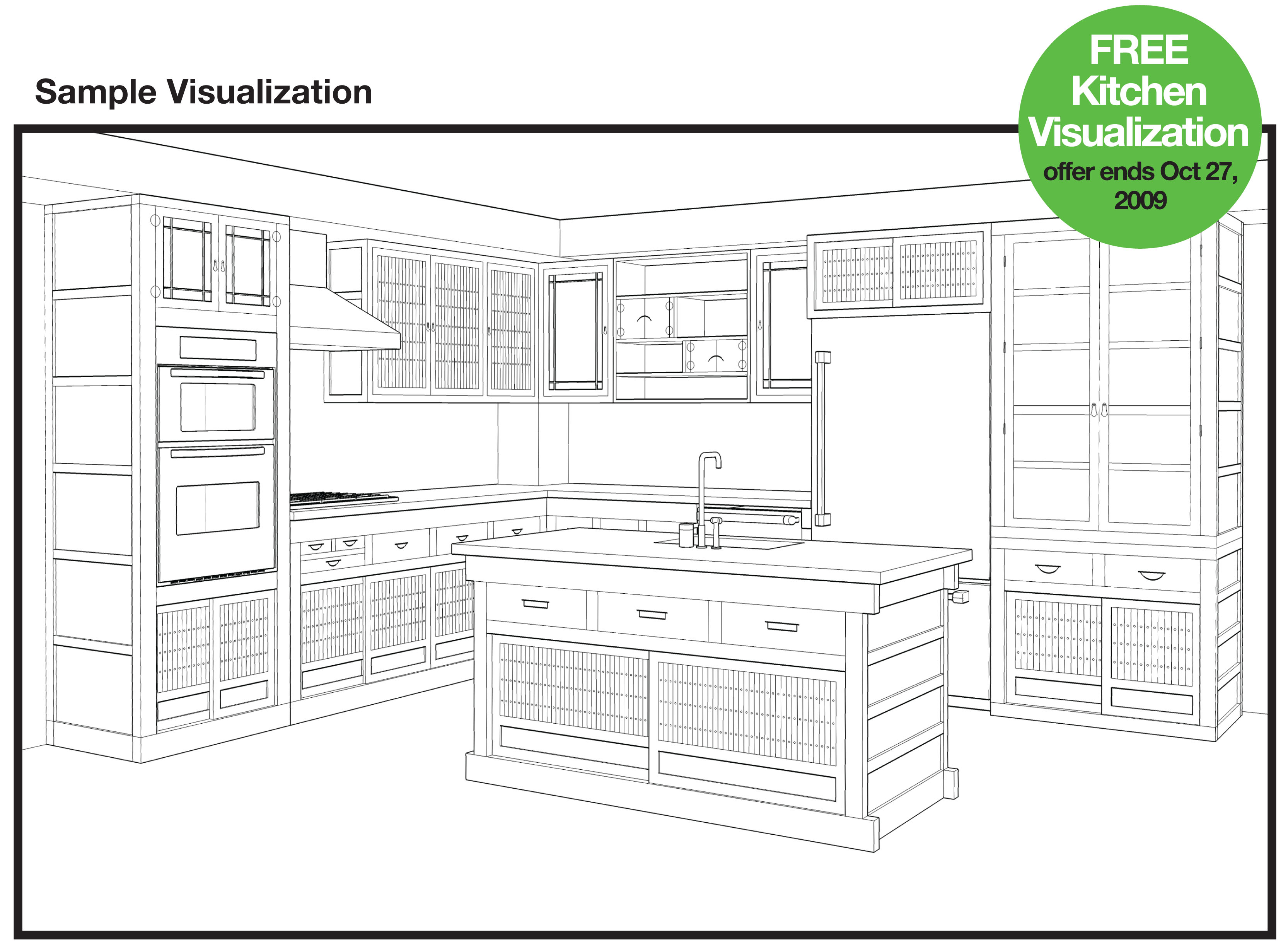 Greentea design 39 s exclusive kitchen promotion for Kitchen visualizer free