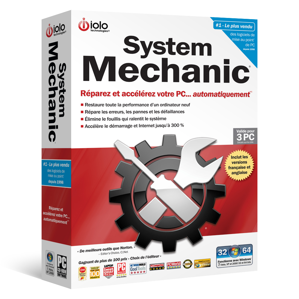 New French English Bilingual Version Of System Mechanic