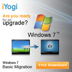 iYogiWindows 7 Migration
