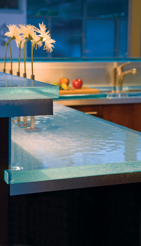 Glass Countertop Is The Latest Trend To Hit The Kitchen