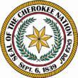 cherokee nation seal color