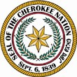 cherokee nation seal color